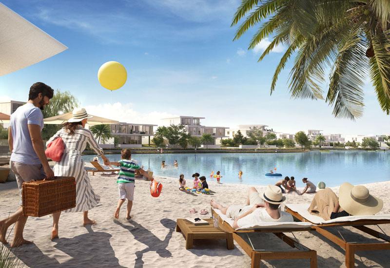 Lagoon Al Ghaf will feature 400 metres of sandy white beach.