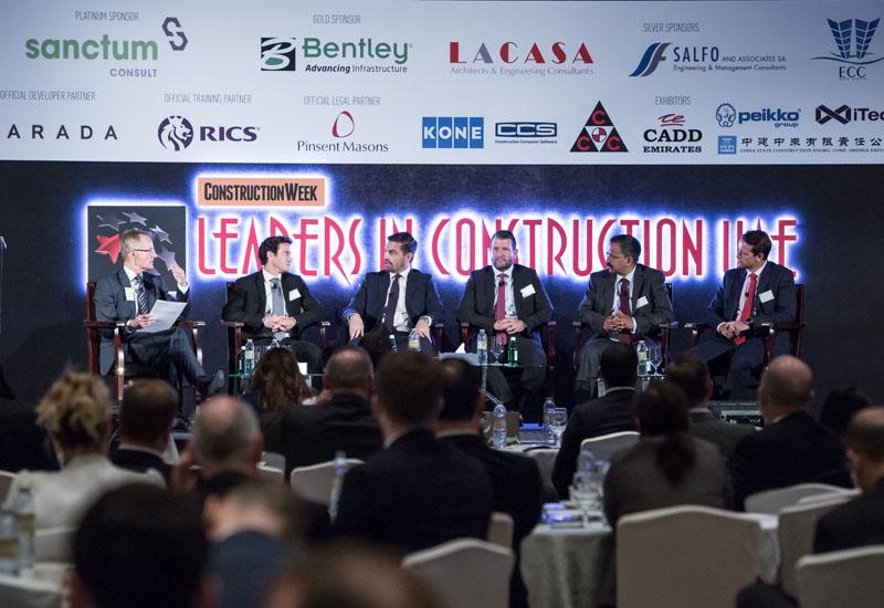 Construction Week: Leaders in Construction UAE Summit 2017.
