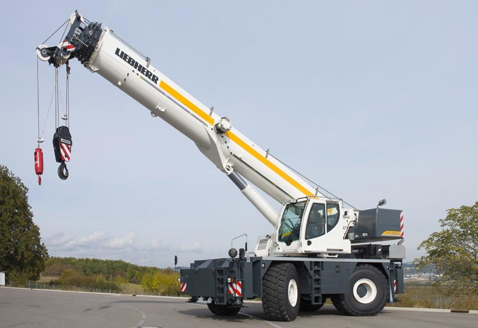 Liebherr's rough-terrain cranes, its first in two decades, will be equipped with LICCON, VarioBase and Cummins engines.