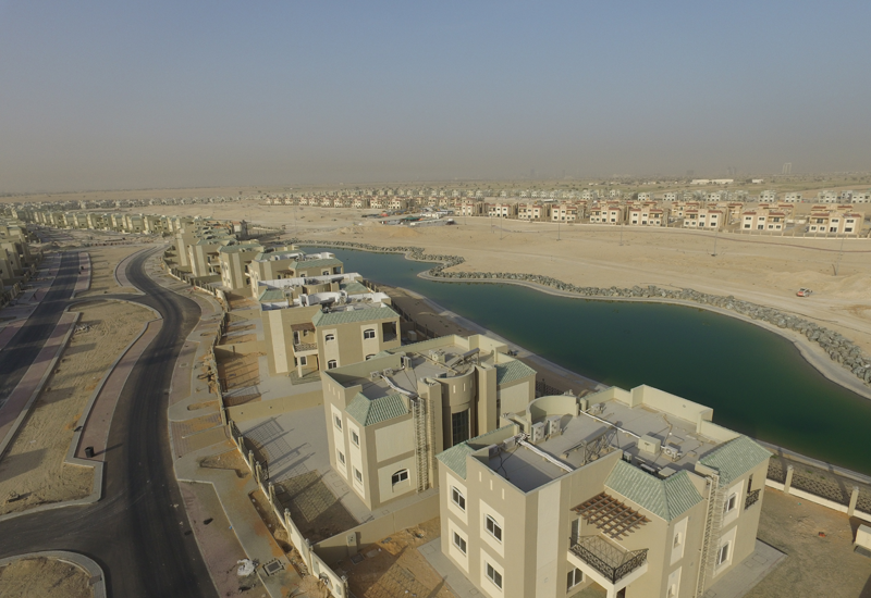 The entire $1.9bn (AED7bn) community is made up of 12 residential towers containing 2,600 spacious apartments in total.