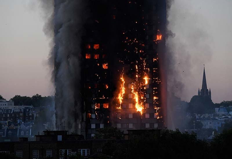 Work is under way to improve the fire-resistance of the faades used for the Middle East's high-rise towers [representational image].