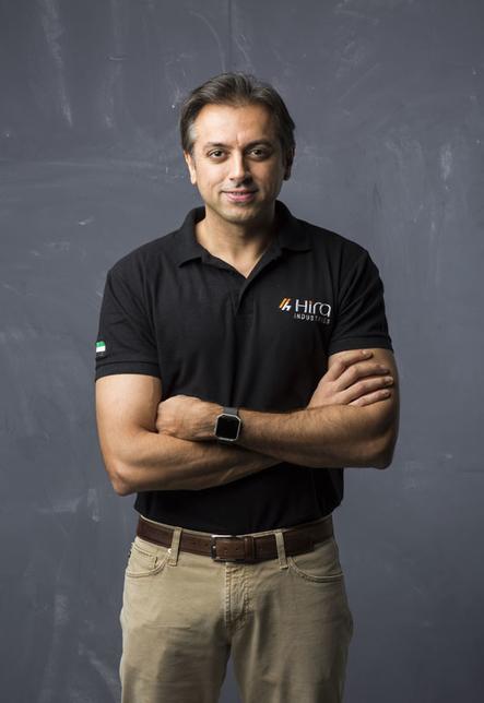 Hira Industries managing director Manish Hira.