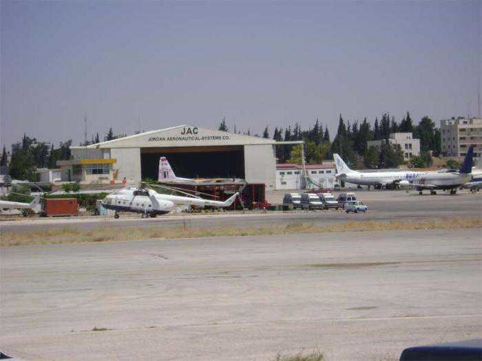 Marka International Airport lies nearly five kilometres Northeast of Amman city centre.