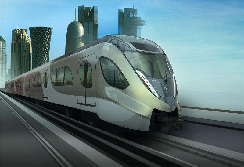 The Doha Metro coach design, Al Faras, which is inspired by the Arabian mare.