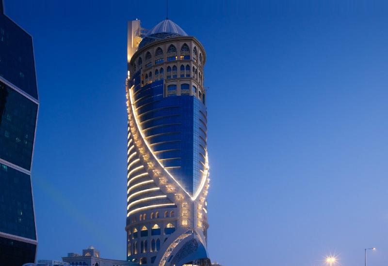 The Mondrian Doha in West Bay Lagoon. (Credit: Mondrian.)