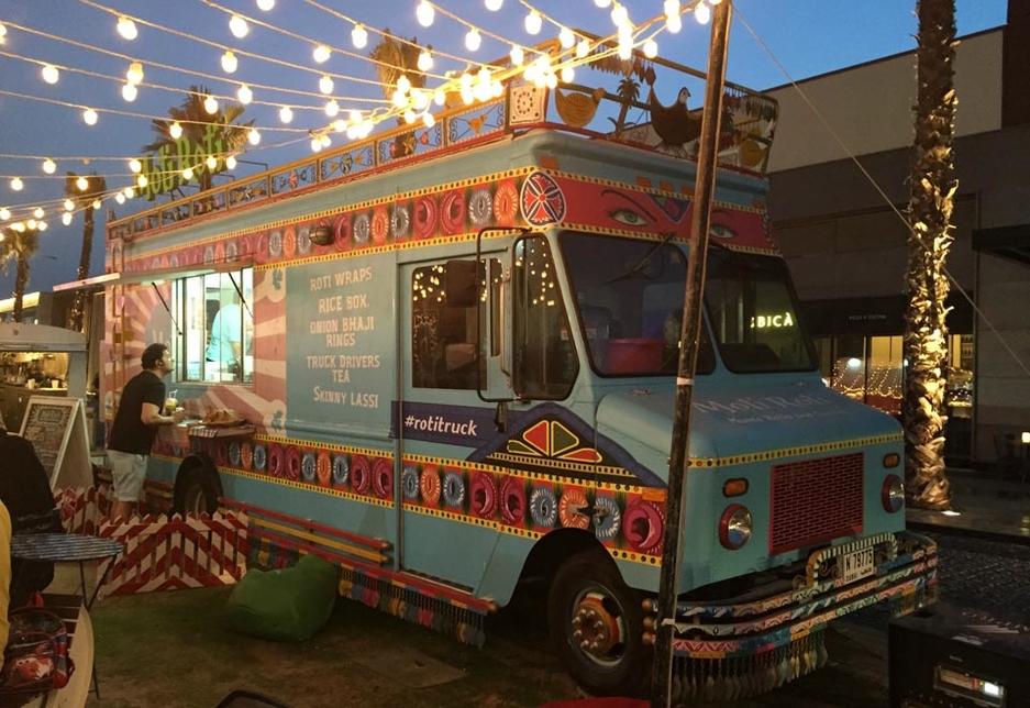 Dubai food truck sensation Moti Roti.