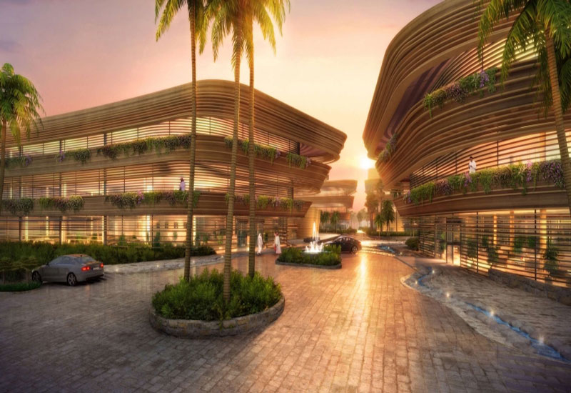 Diplomatic Quarter Marriott Hotel in Riyadh, Saudi Arabia.