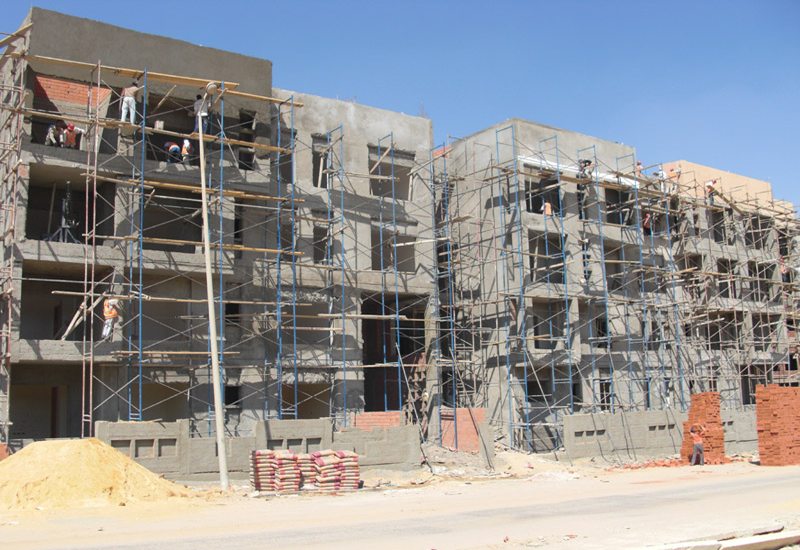A general representation of housing projects in New Cairo.