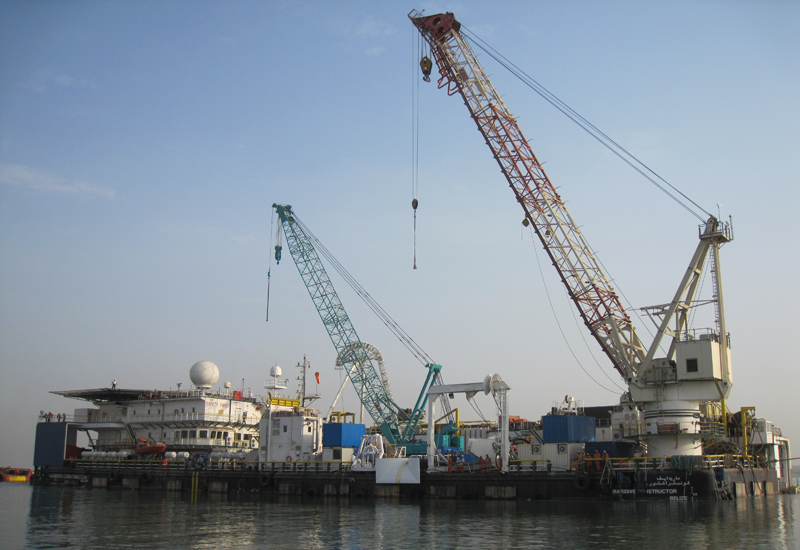 Valentine Maritime, one of Maridive's subsidiaries, will supply and implement various offshore constructions in the UAE.