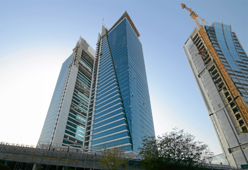 The Olaya Tower in Saudi Arabia is one of Kuwaiti developer Al Mazaya's income-generating projects.