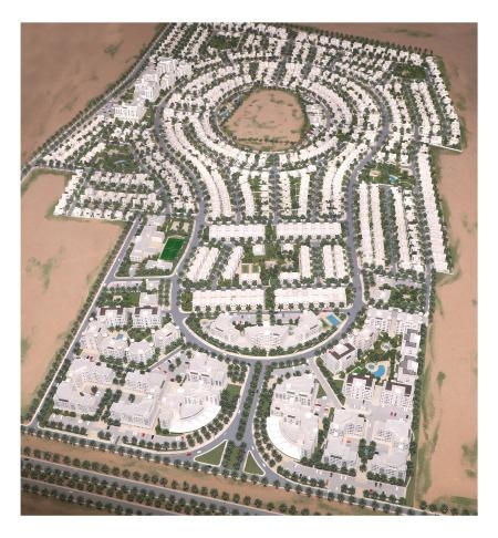Al Waha residential project in Oman.