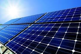 A solar panel farm (illustrative image only).