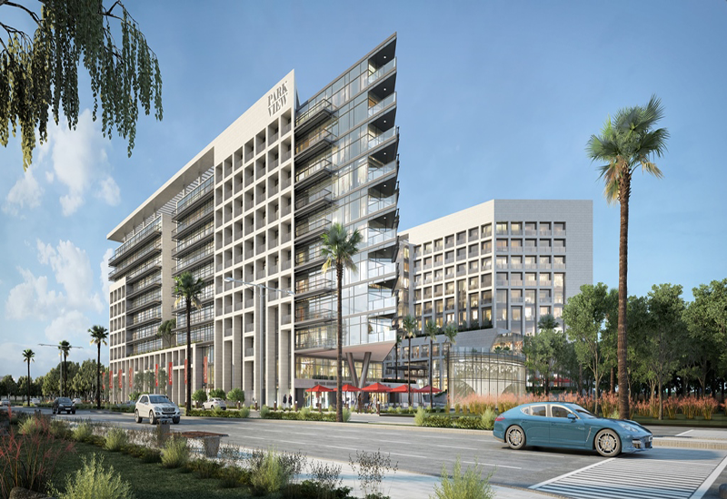 Park View will feature two buildings: one residential and one related to hospitality.