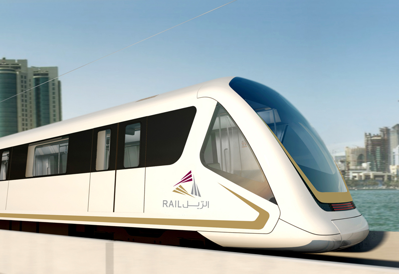 Doha Metro in Qatar.