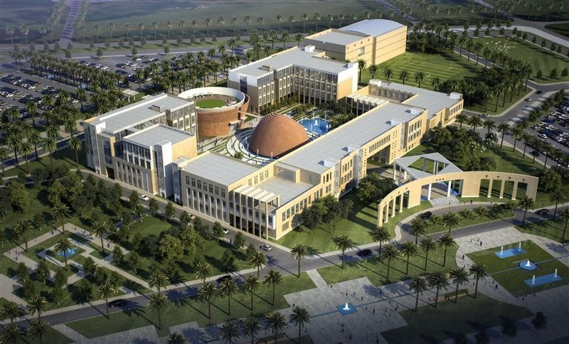 Rendering of new Rochester Institute of Technology Dubai campus.