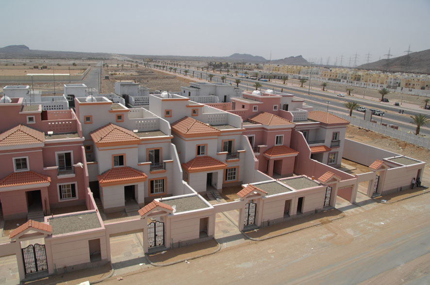 The project aims to build 10,000 housing units for needy families over 10 years.