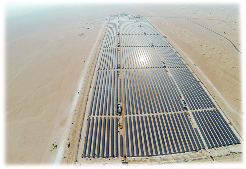 The MBR solar park will produce 1,000MW by 2020 and 5,000MW by 2030.
