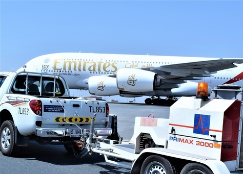 Dubai International Airports southern runway.