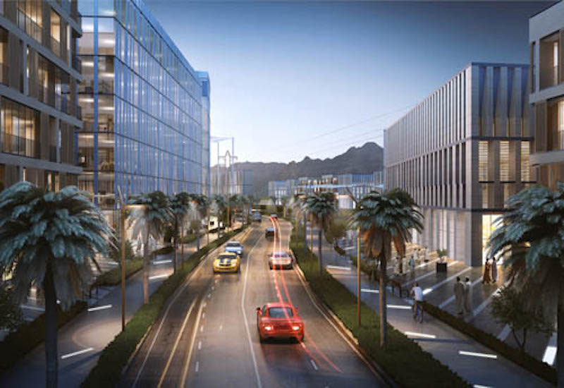 An office hub will be developed within Oman's Sur Industrial Estate [image: SIE].