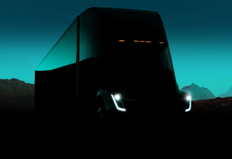 The Tesla Semi was announced by Elon Musk at the company's annual event in late 2017.