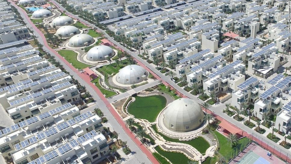 The Sustainable City in Dubai.