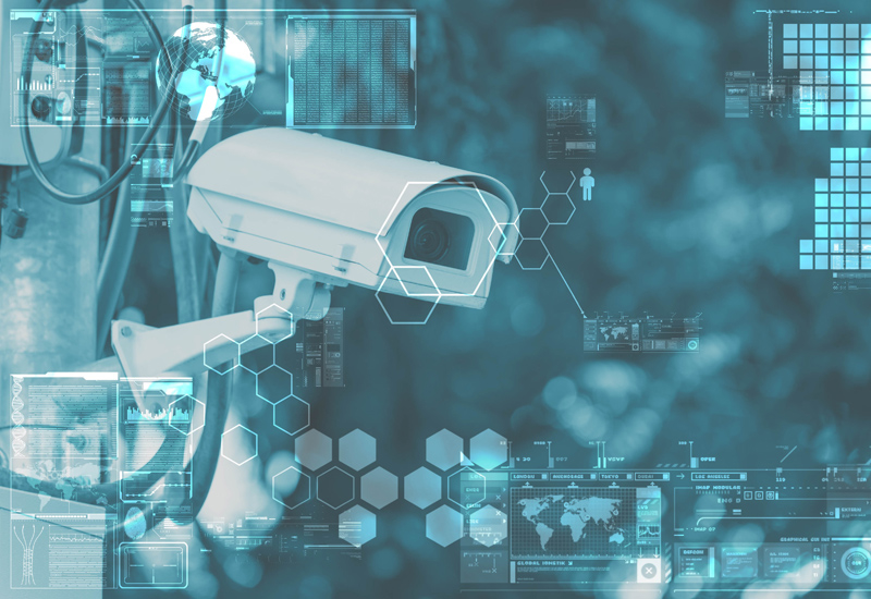 Video surveillance can help mitigate the threat of theft.