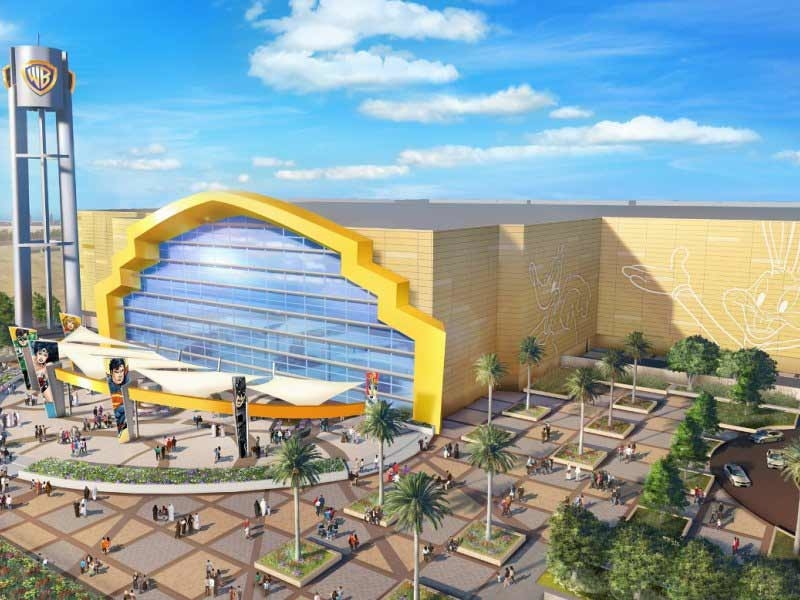 The Warner Bros Abu Dhabi theme park, developed by Miral, will open next month.