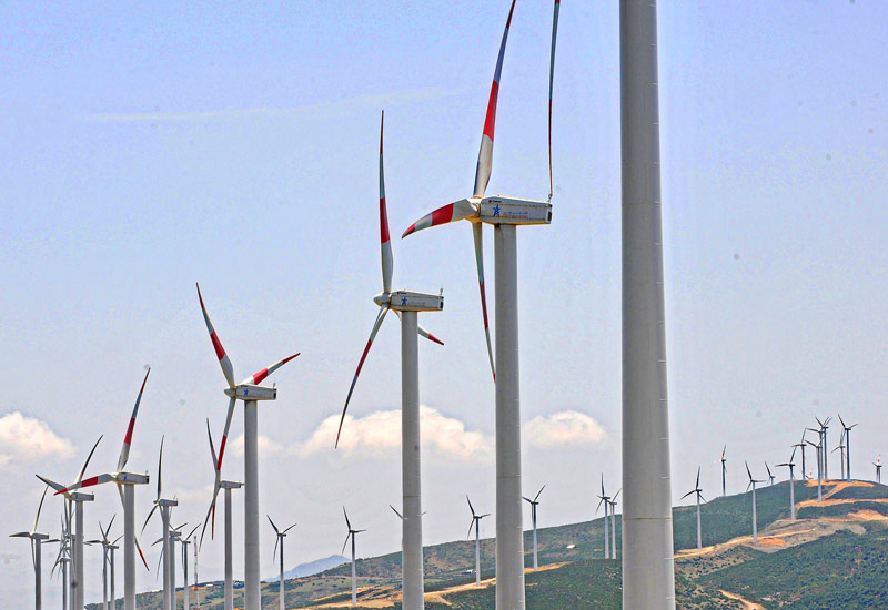 A 400MW wind power project will be developed in Saudi Arabia [representational image].