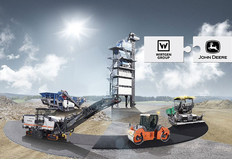 NEWS, PMV, Acquisitions, Agricultural equipment, John Deere, Road equipment, Road-building equipment, Wirtgen group