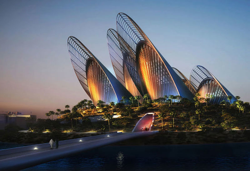 Zayed National Museum's preparatory structural works are complete.