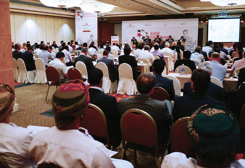 Leaders in Construction Summit Oman 2015 opens today in Muscat.