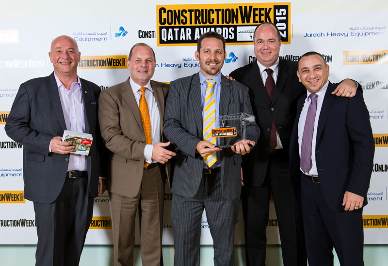 The Sustainable Project of the Year award was taken away by Gulf Contracting Company.