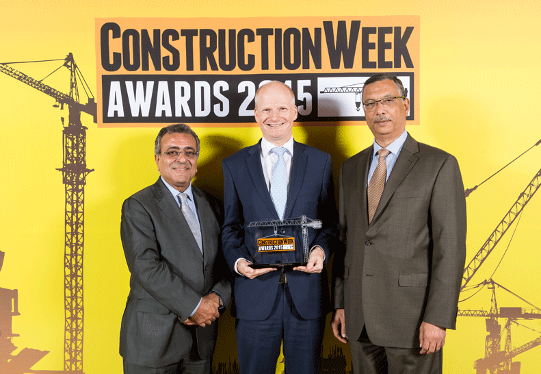 Aecom was crowned Consultant of the Year.