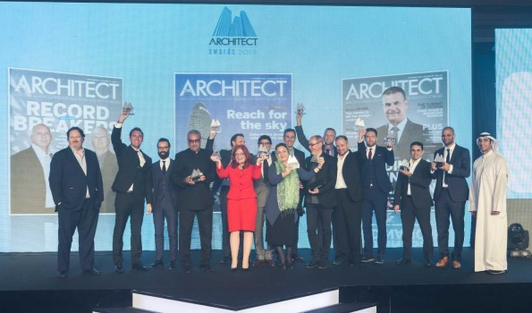 Middle East Architect Awards 2015 winners.