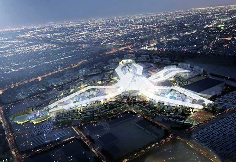 Parsons will design and supervise construction of the 438ha Dubai Expo 2020 site.