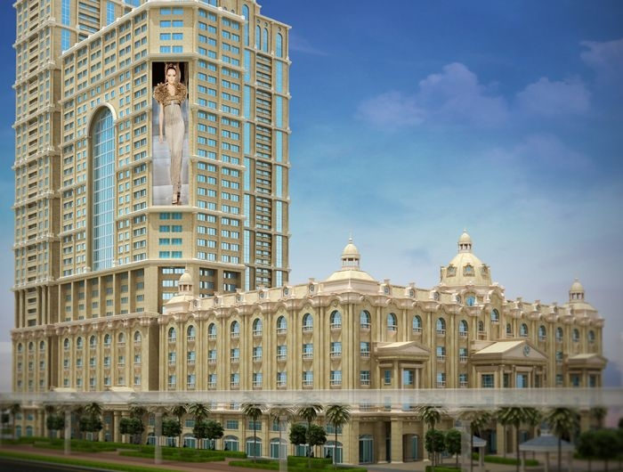The hotel component of Al Habtoor City is due to open in 2015.