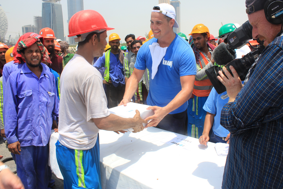 In pictures: Knauf offers human touch