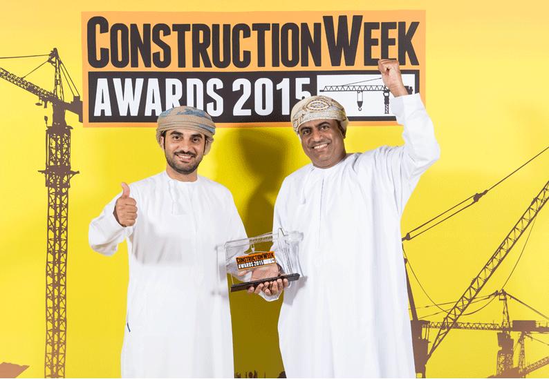 Bunyan's Muyasser Al-Kumzari and Talal Al Masoudi collected the award.