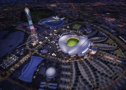 Khalifa Stadium is expected to be complete by the end of 2016.
