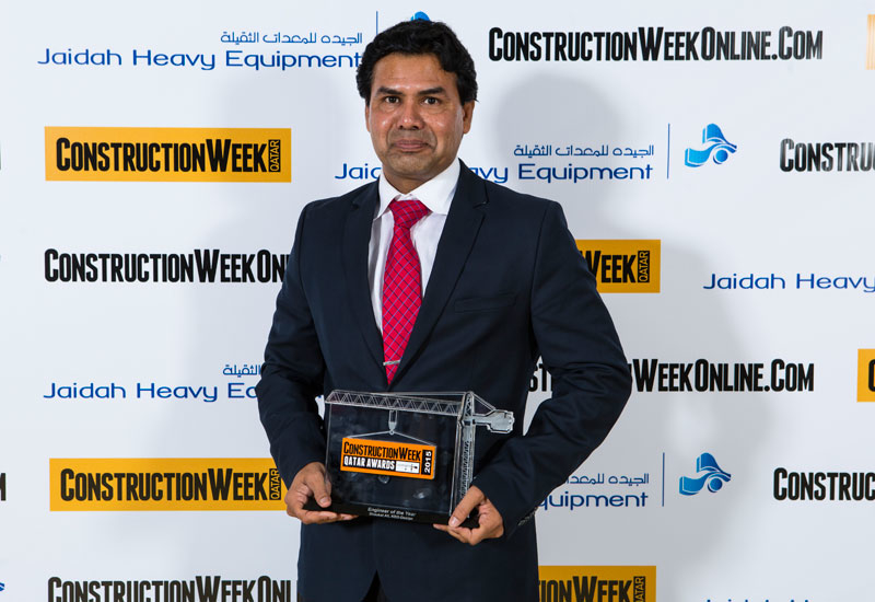 Winner of Engineer of the Year deservedly went to Shaukat Ali, KEO-Design.
