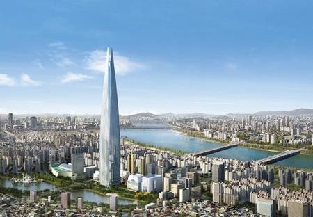 Korea's $1bn Lotte World Tower.