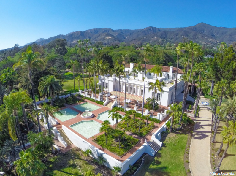 The mansion used in Scarface movie [Village Properties].