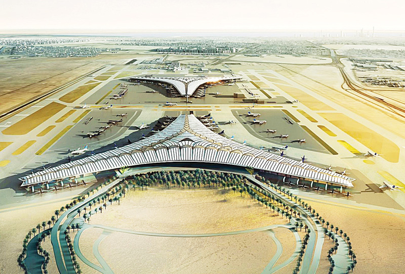 The expansion of Kuwait International Airport has faced repeated delays.