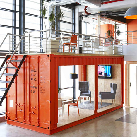 NEWS, Design, Architects, Shipping container, Waiting room