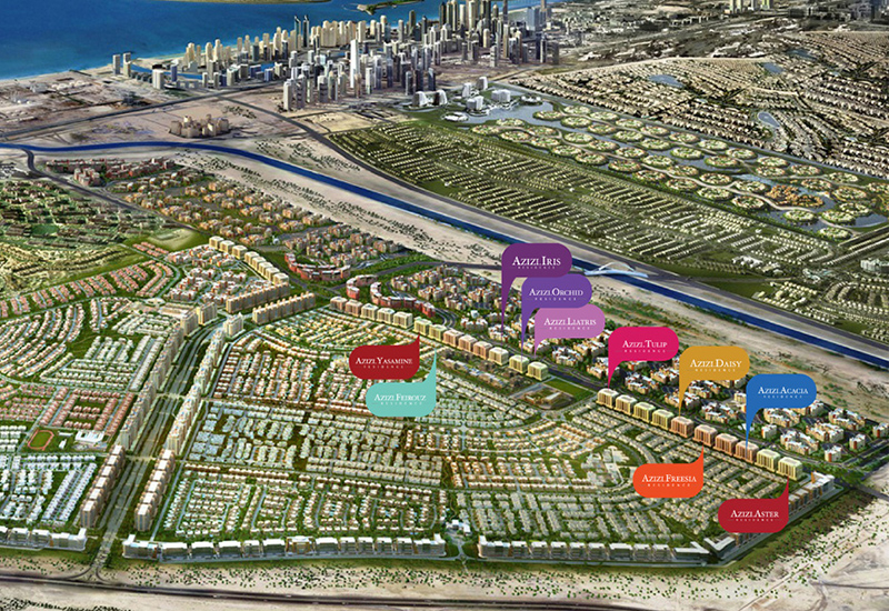Azizi Developments says construction on its projects is progressing on schedule. Image: company website.