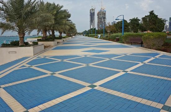 NEWS, Projects, Abu Dhabi Corniche, Access, Paths