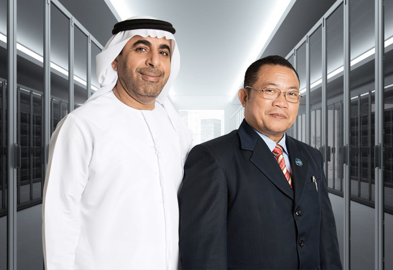Ahmed Al Kaabi and Rolly Romorosa.