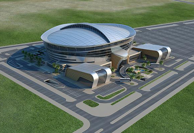 AKTOR are building the sports centre as a supplementary facility to the existing Jassim Bin Hamad or Al Sadd Stadium.