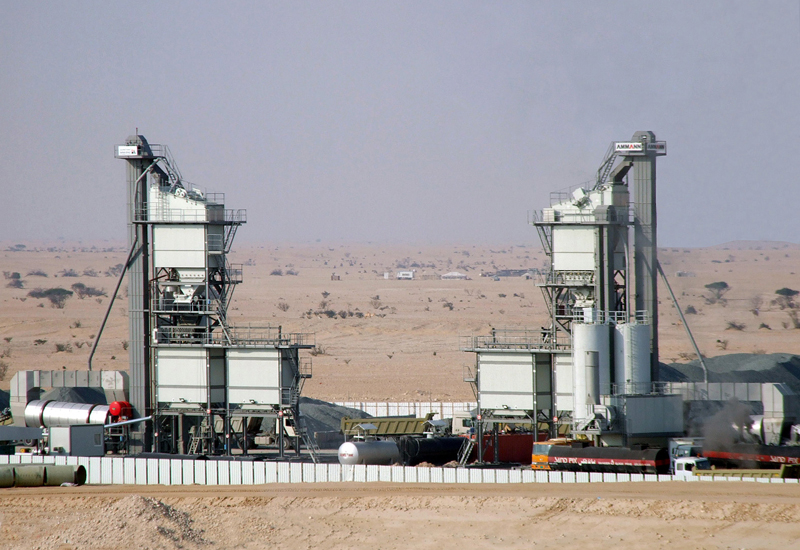 Ammann has installed more than 100 asphalt plants across the Middle East since 2006.
