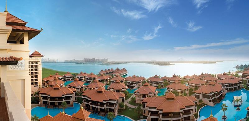 View from the Anantara Dubai Palm Jumeirah Residences.